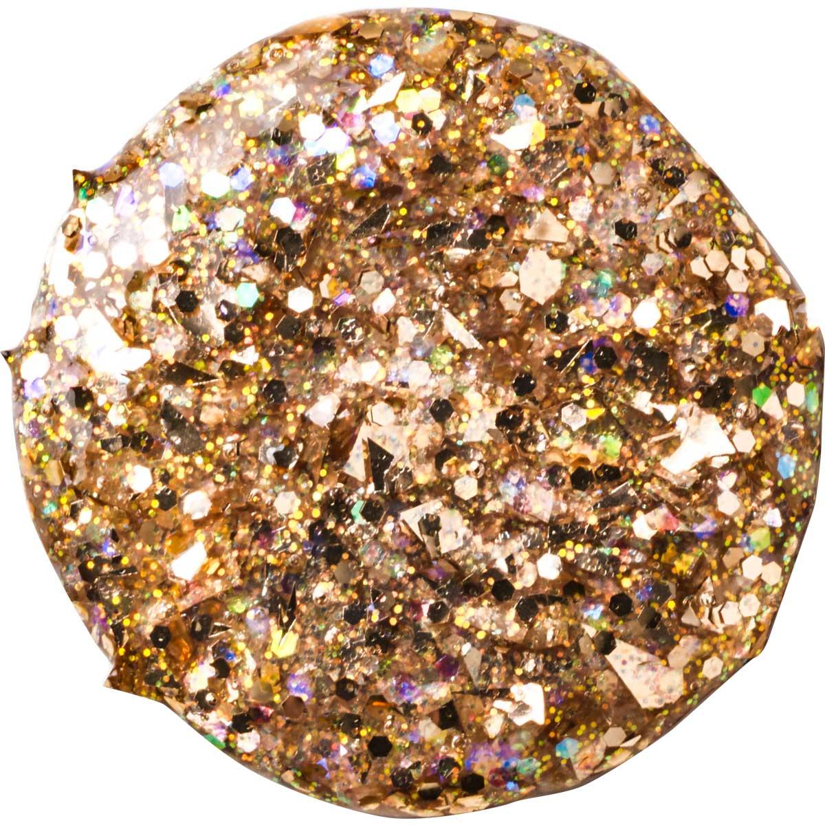 FolkArt ® Glitterific™ Acrylic Paint - Rose Gold, 2 oz.