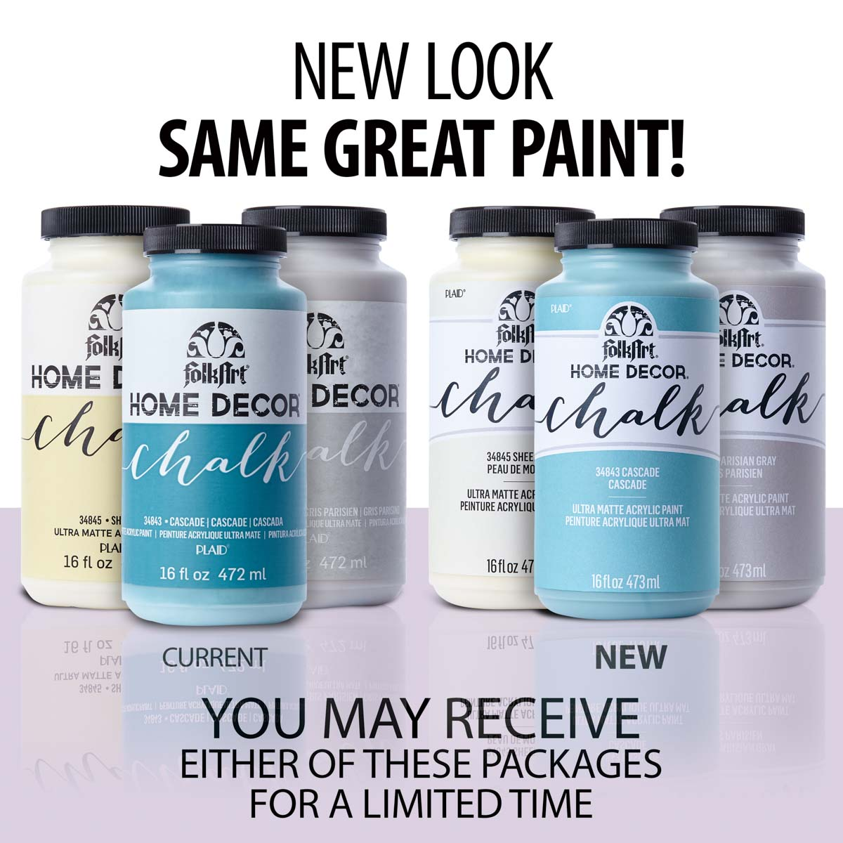 FolkArt ® Home Decor™ Chalk - Rich Black, 16 oz. - 34844
