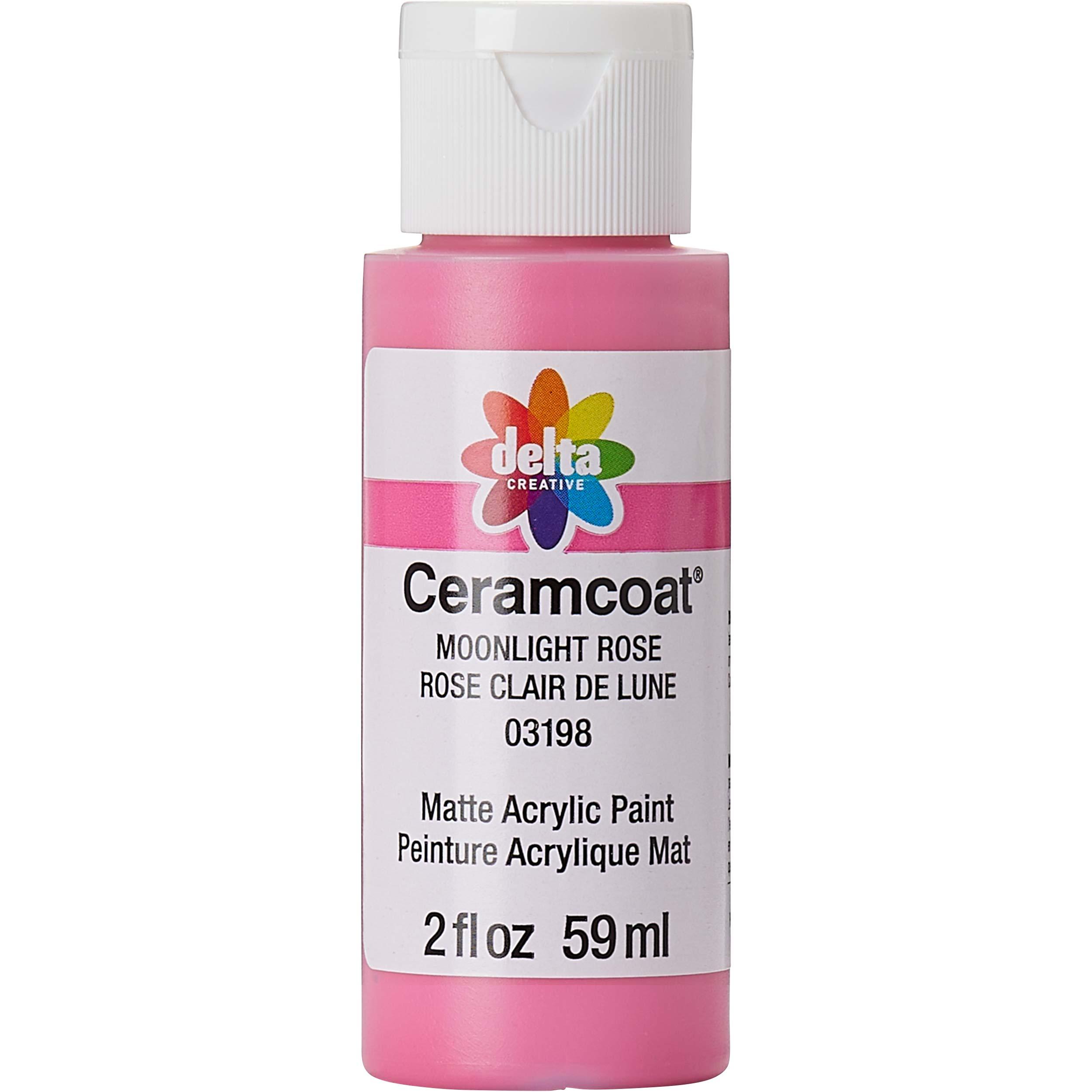 Delta Ceramcoat Acrylic Paint - Moonlight Rose, 2 oz. - 03198