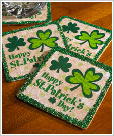 St. Patrick's Day Coasters