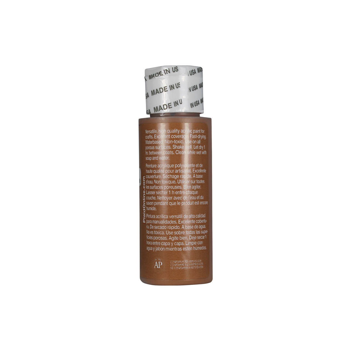 Apple Barrel ® Colors - Toffee, 2 oz.