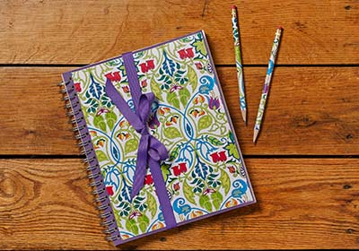 Journal Set with Adult Coloring Page Cover