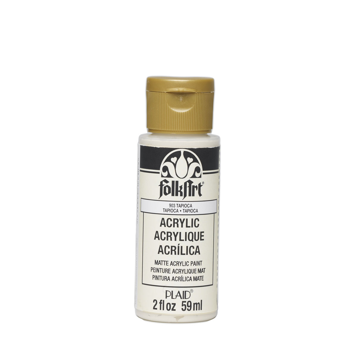 FolkArt ® Acrylic Colors - Tapioca, 2 oz. - 903