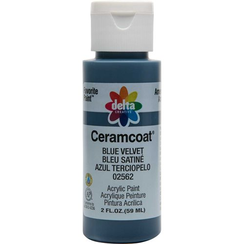 Delta Ceramcoat ® Acrylic Paint - Blue Velvet, 2 oz. - 025620202W