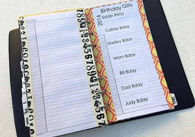 DIY Shopping Journal