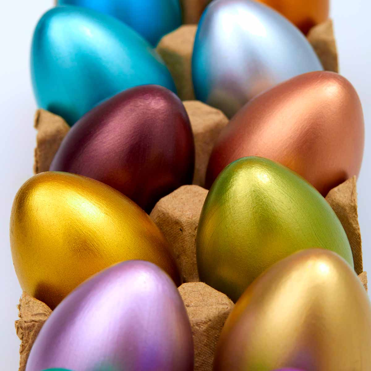 Jewel Tone Easter Eggs   Project   Plaid Online
