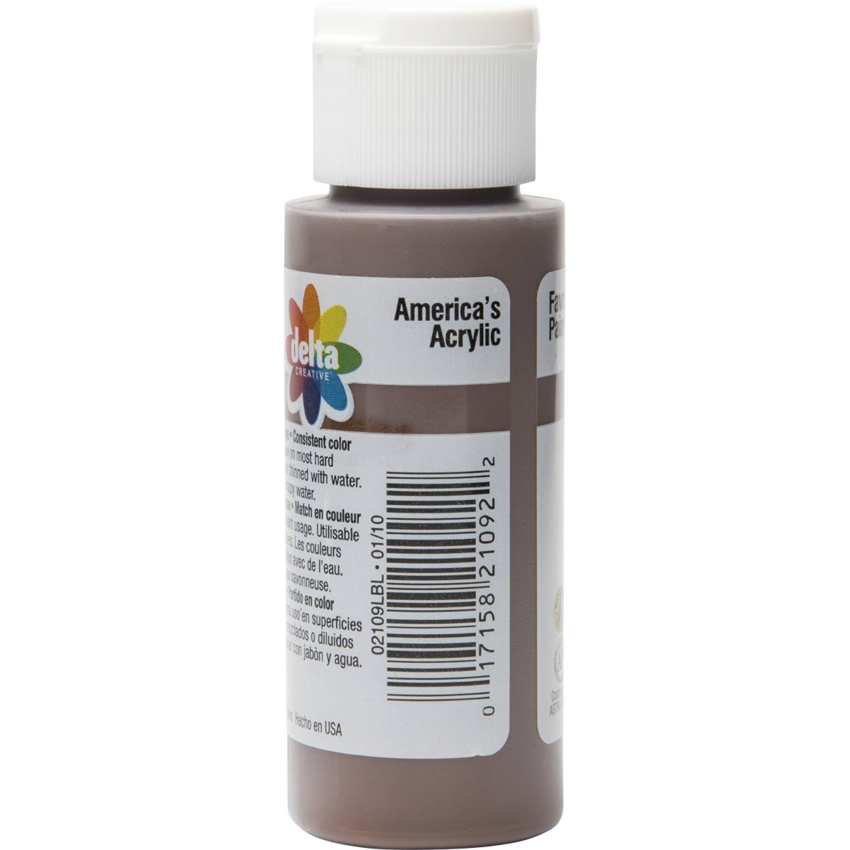 Delta Ceramcoat ® Acrylic Paint - Brown Velvet, 2 oz.