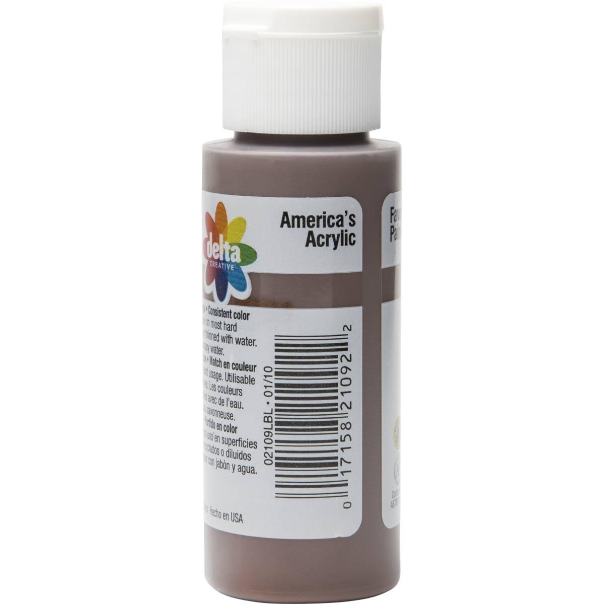 Delta Ceramcoat ® Acrylic Paint - Brown Velvet, 2 oz.