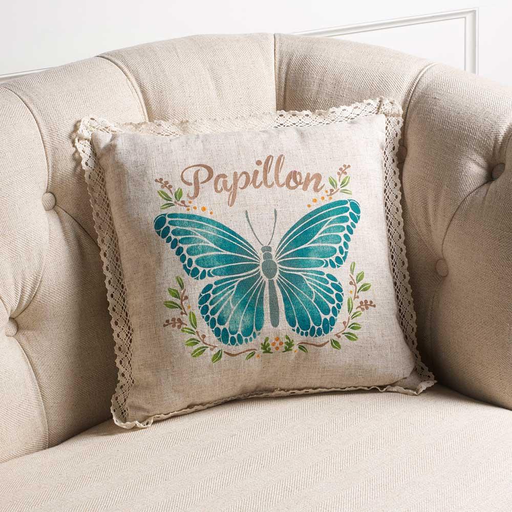 FolkArt ® Painting Stencils - Adhesive Laser - Papillon - 71957