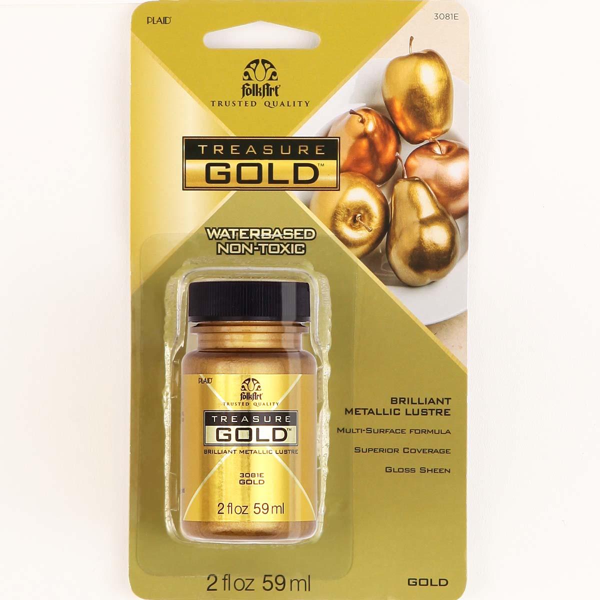 FolkArt ® Treasure Gold™ - Gold, 2 oz. - 3081