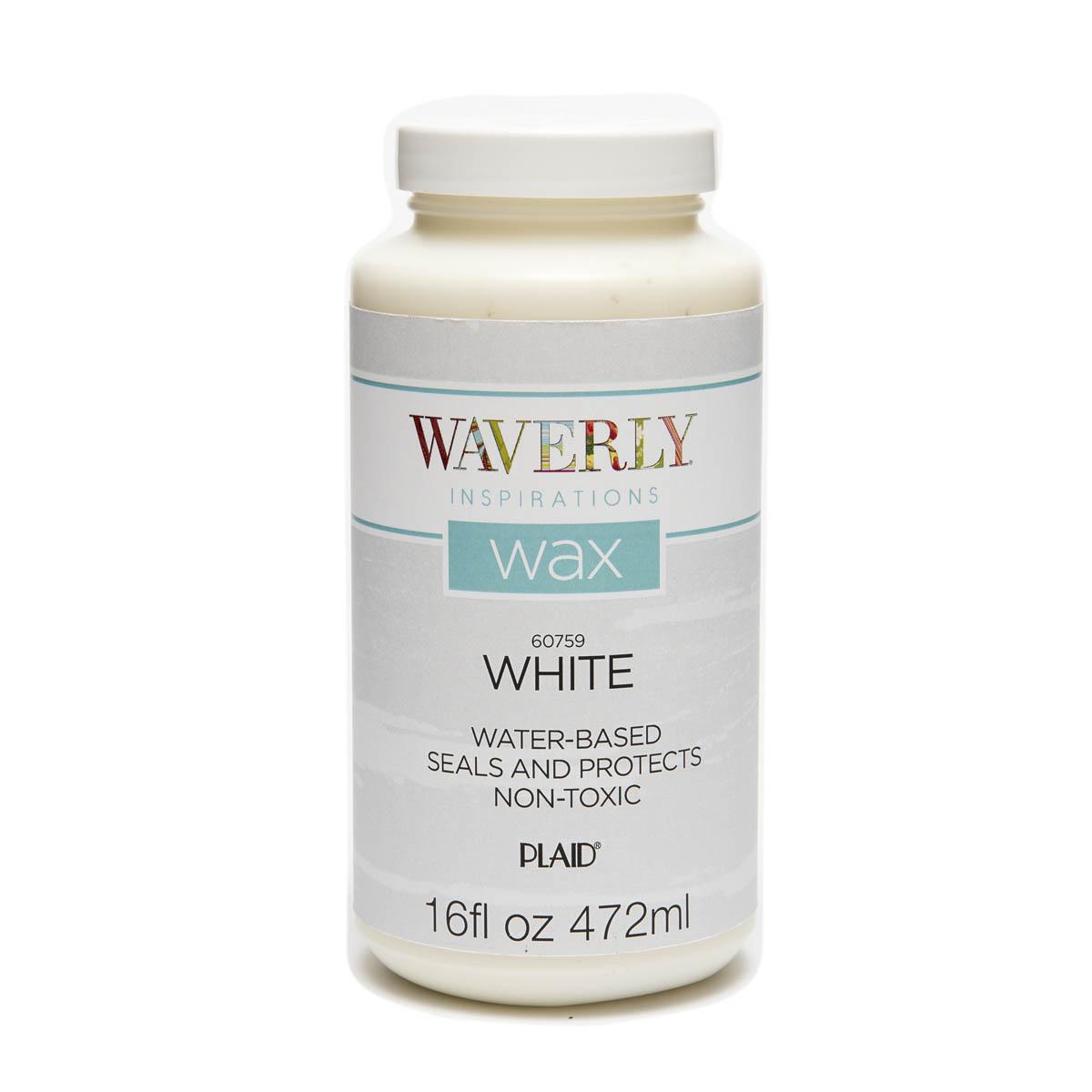 Waverly ® Inspirations Wax - White, 16 oz. - 60759E