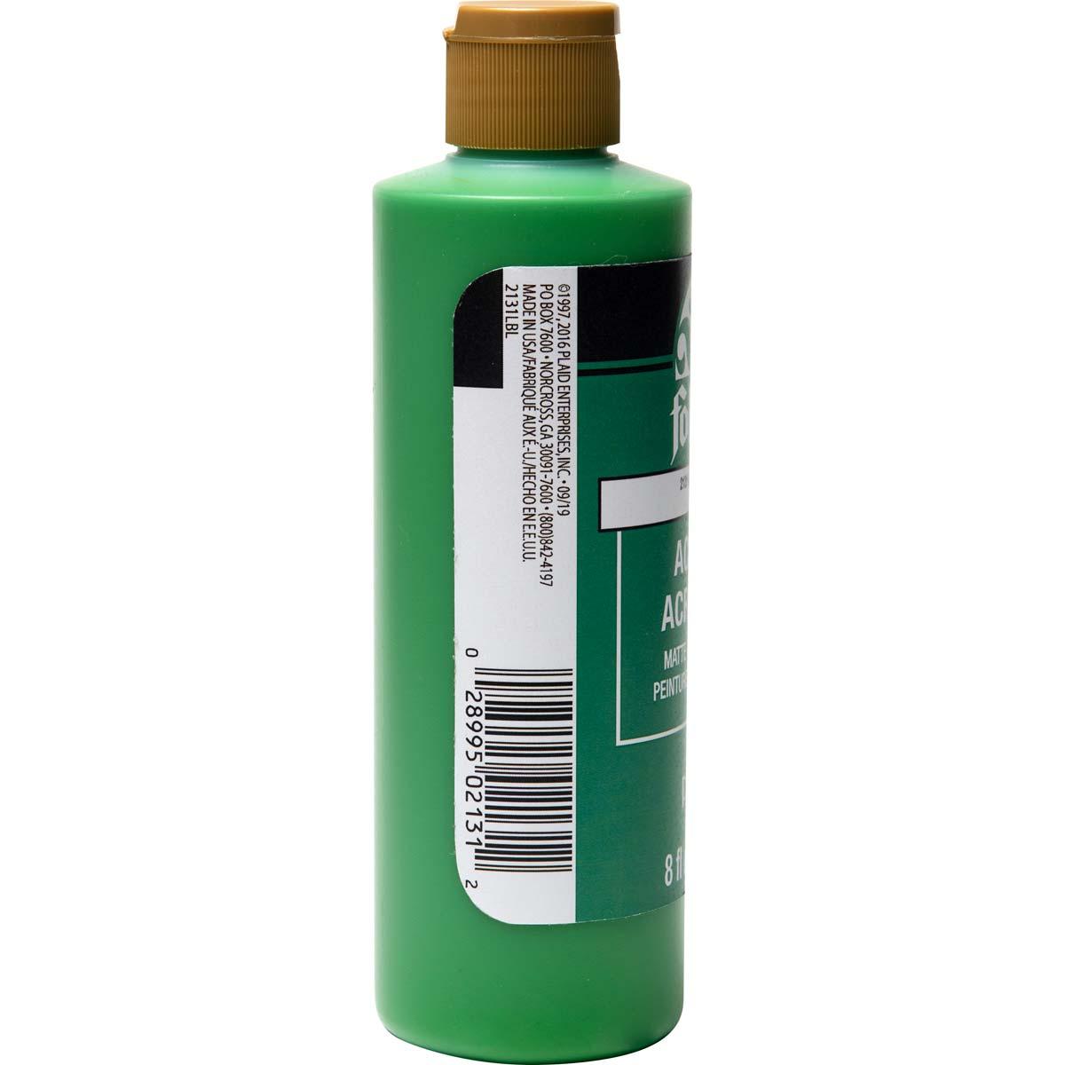 FolkArt ® Acrylic Colors - Bright Green, 8 oz. - 2131