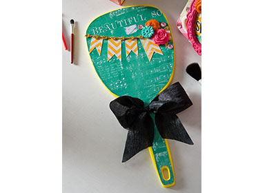 Girly Vanity Hand Mirror