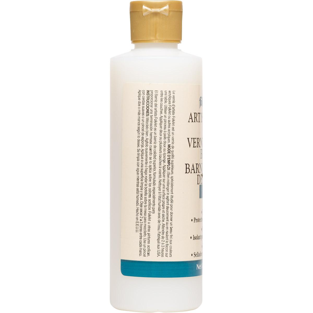 FolkArt ® Finishes - Artists Varnish - Gloss, 8 oz. - 884