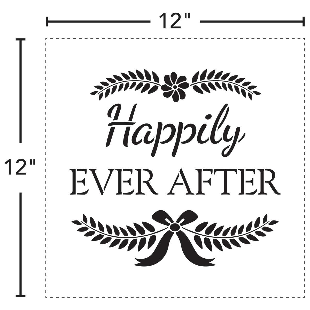 FolkArt ® Stencil Value Packs - Wedding, 12