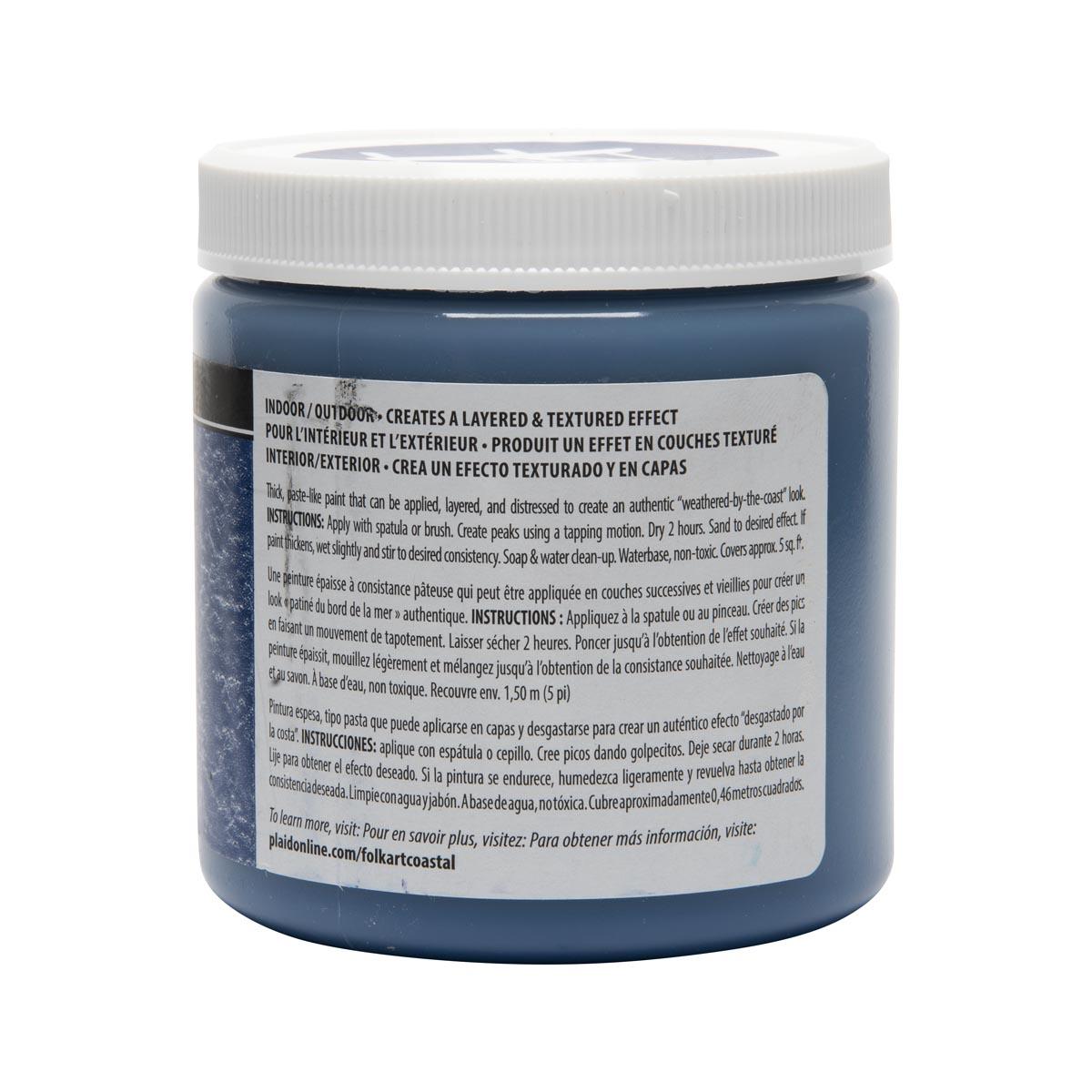 FolkArt ® Coastal™ Texture Paint - Poseidon, 8 oz.