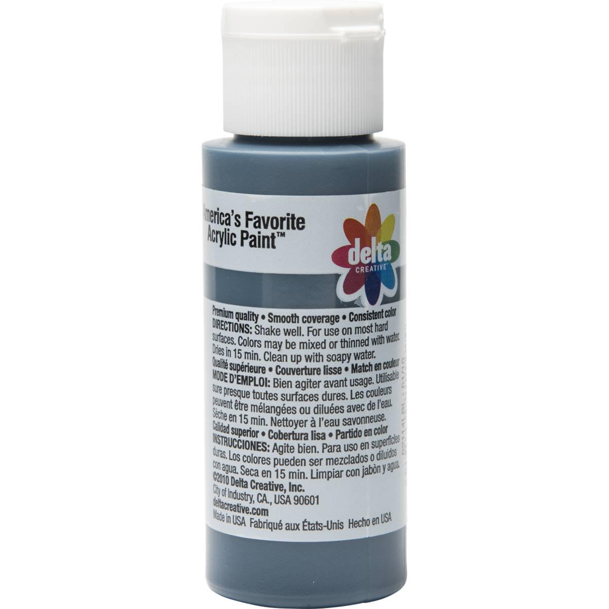 Delta Ceramcoat ® Acrylic Paint - Midnight Blue, 2 oz.