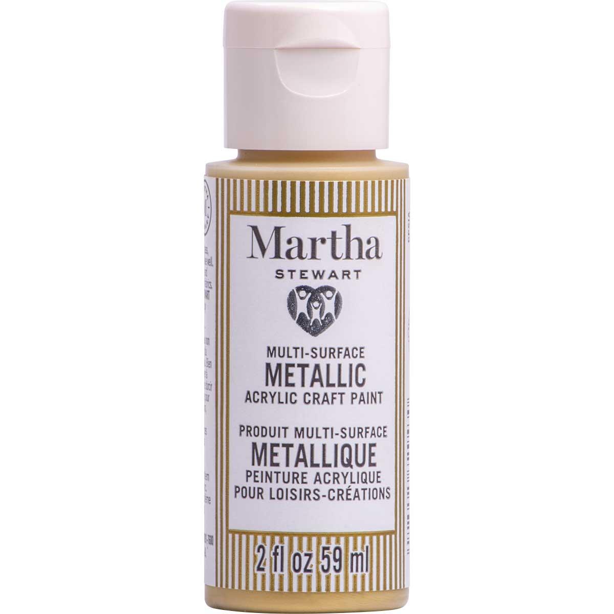 Martha Stewart® 2oz Multi-Surface Metallic Acrylic Craft Paint - Royal Gold