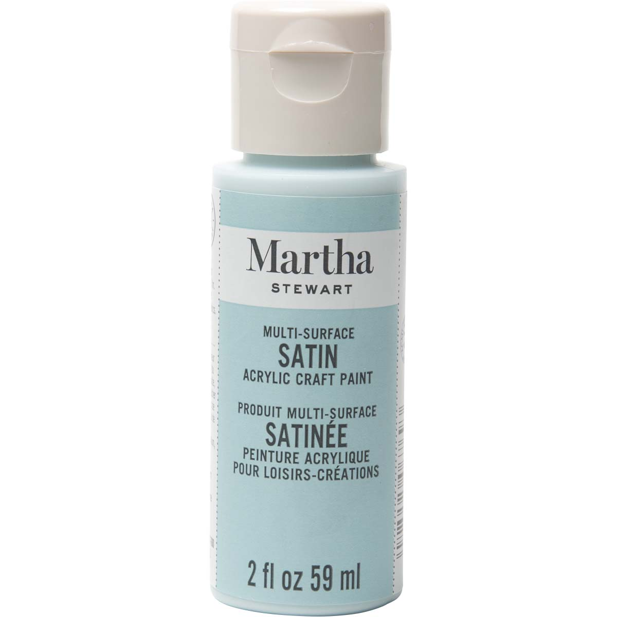 Martha Stewart ® Multi-Surface Satin Acrylic Craft Paint - Summer Haze, 2 oz.