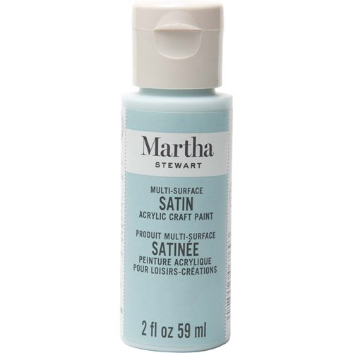 Martha Stewart ® Multi-Surface Satin Acrylic Craft Paint - Summer Haze, 2 oz. - 32023CA