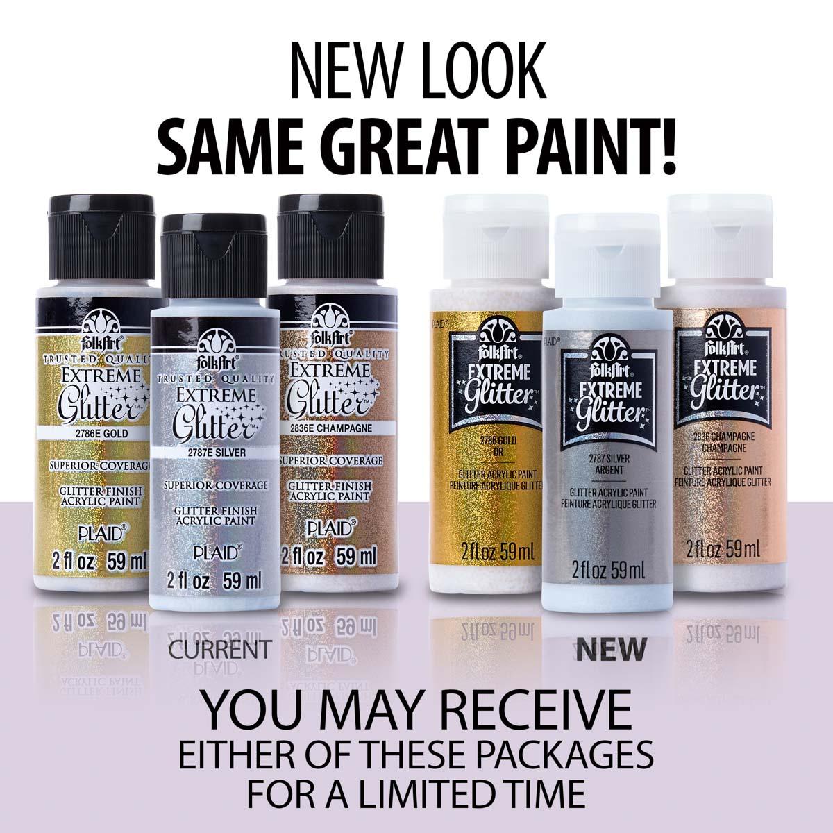 FolkArt ® Extreme Glitter™ - Turquoise, 2 oz. - 2790