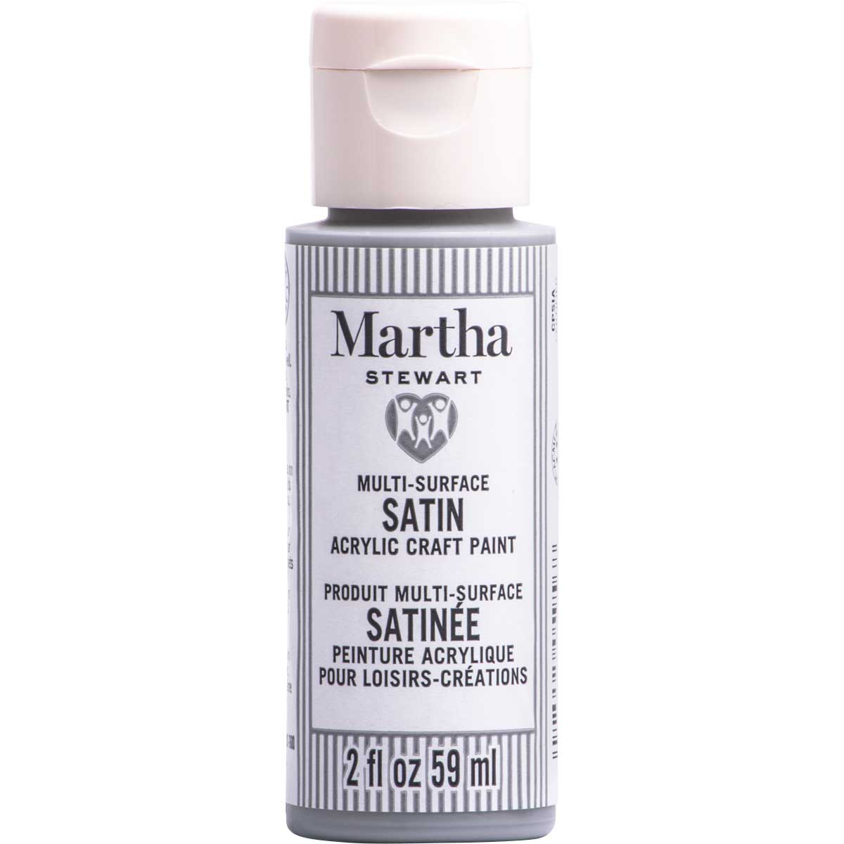 Martha Stewart ® Multi-Surface Satin Acrylic Craft Paint CPSIA - Cool Gray, 2 oz.