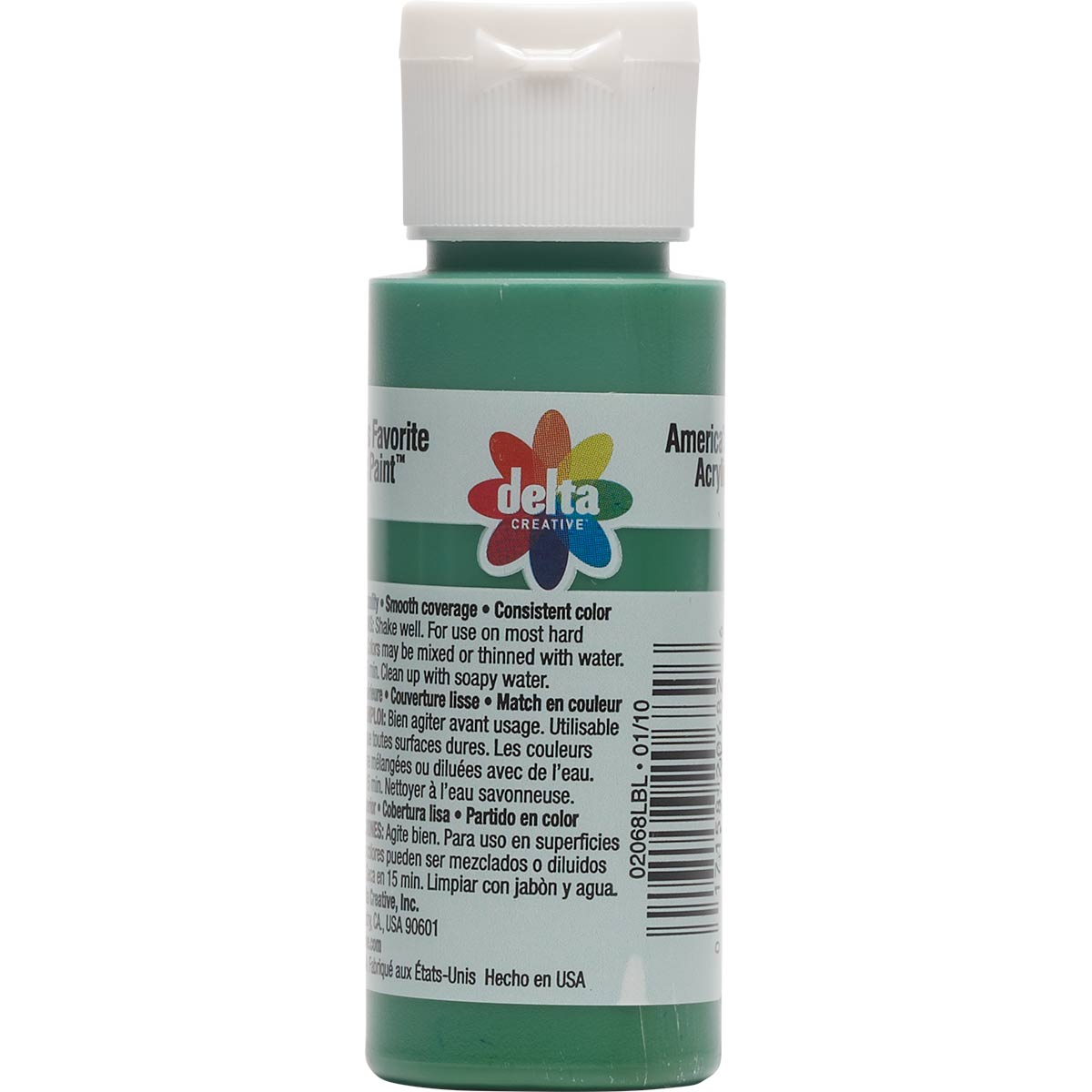 Delta Ceramcoat ® Acrylic Paint - Christmas Green, 2 oz. - 020680202W