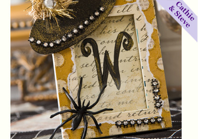Halloween Place card Holder and Party Favor