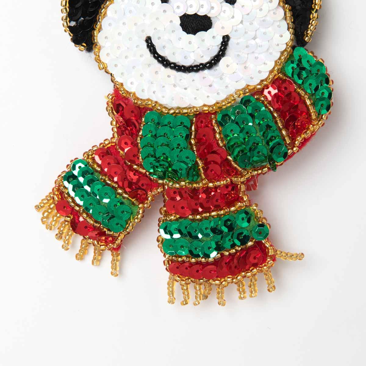 Bucilla ® Seasonal - Felt - Ornament Kits - Glitz Santa - 89263E