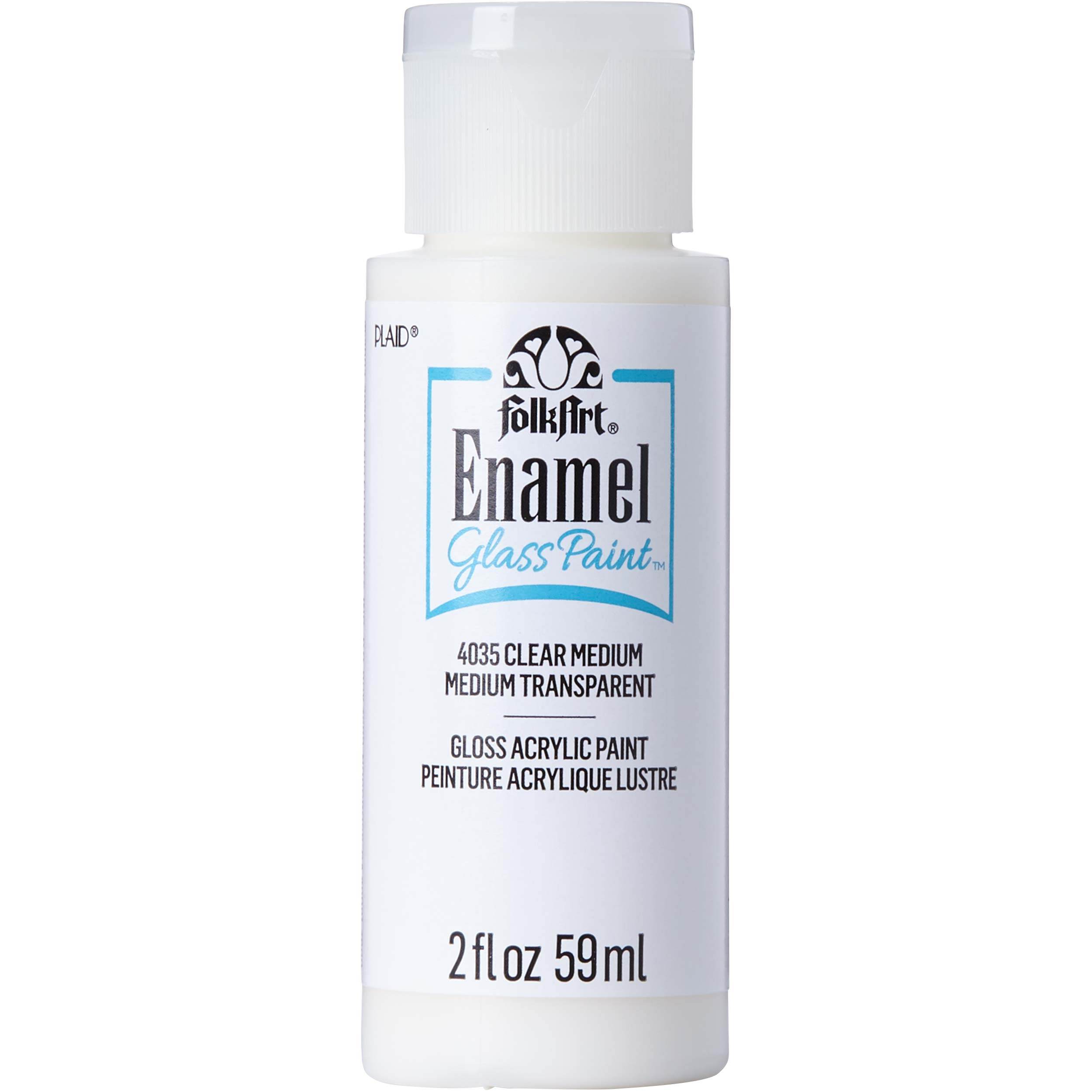 FolkArt ® Enamels™ Mediums - Clear Medium, 2 oz. - 4035