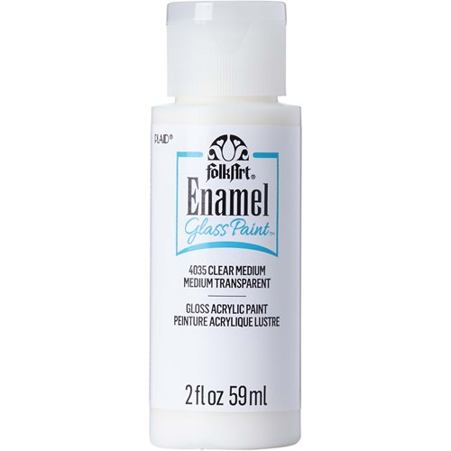 FolkArt ® Enamels™ Mediums - Clear Medium, 2 oz.