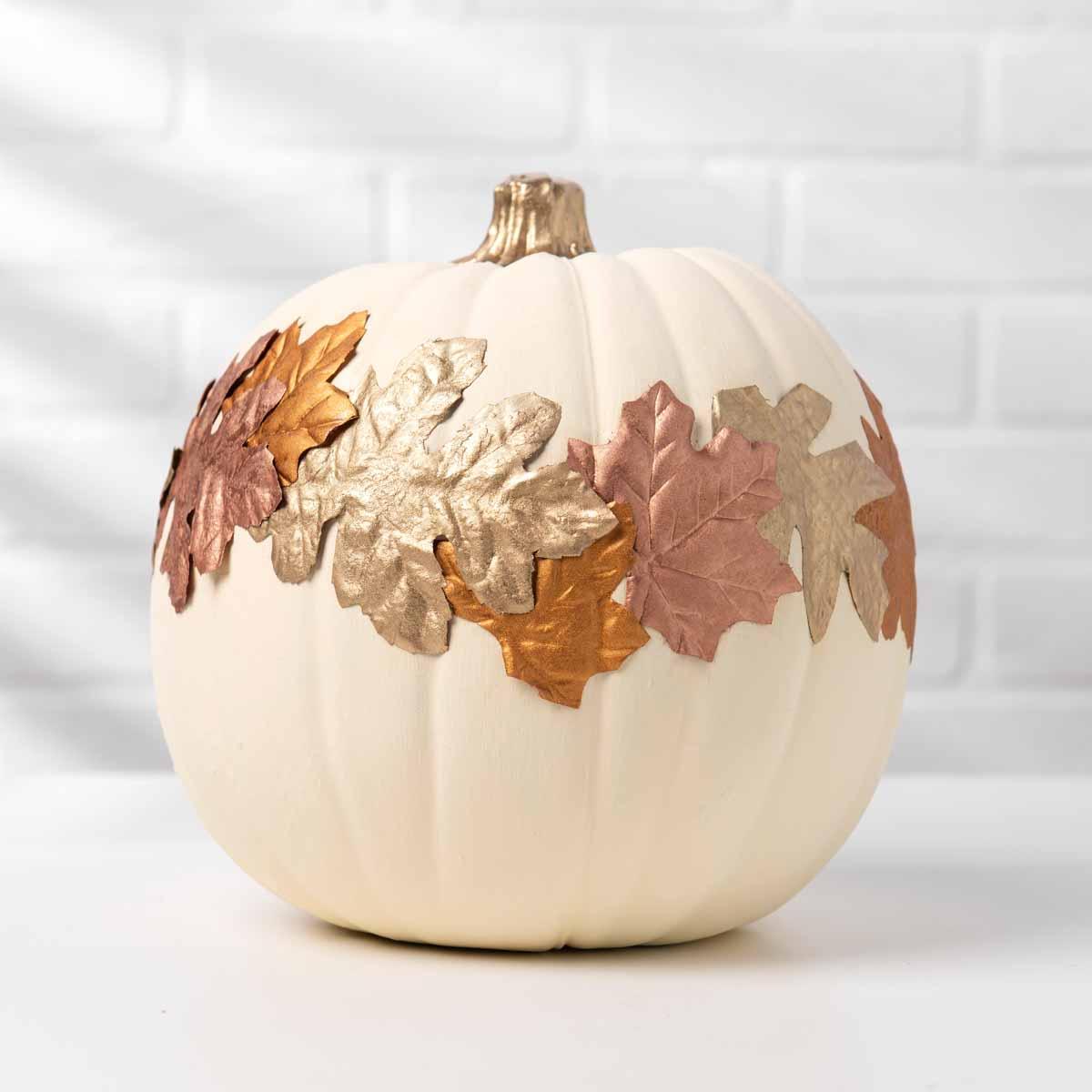 Treasure Gold Leaf Pumpkin