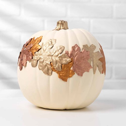 Treasure Gold Leaf Pumpkin