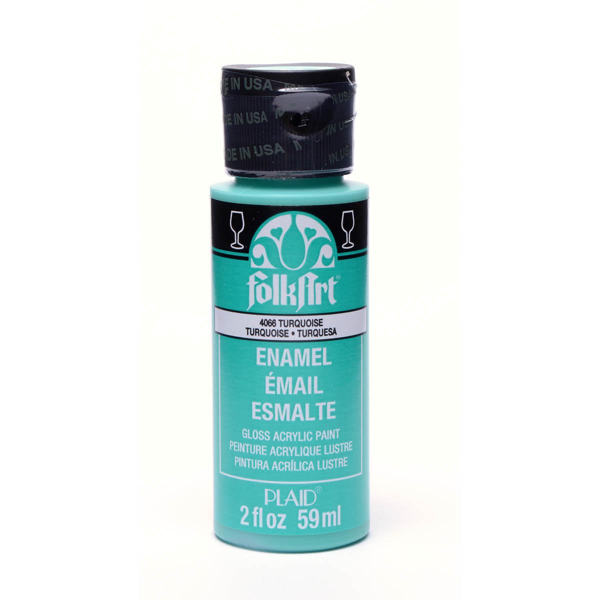 FolkArt ® Enamels™ - Turquoise, 2 oz. - 4066