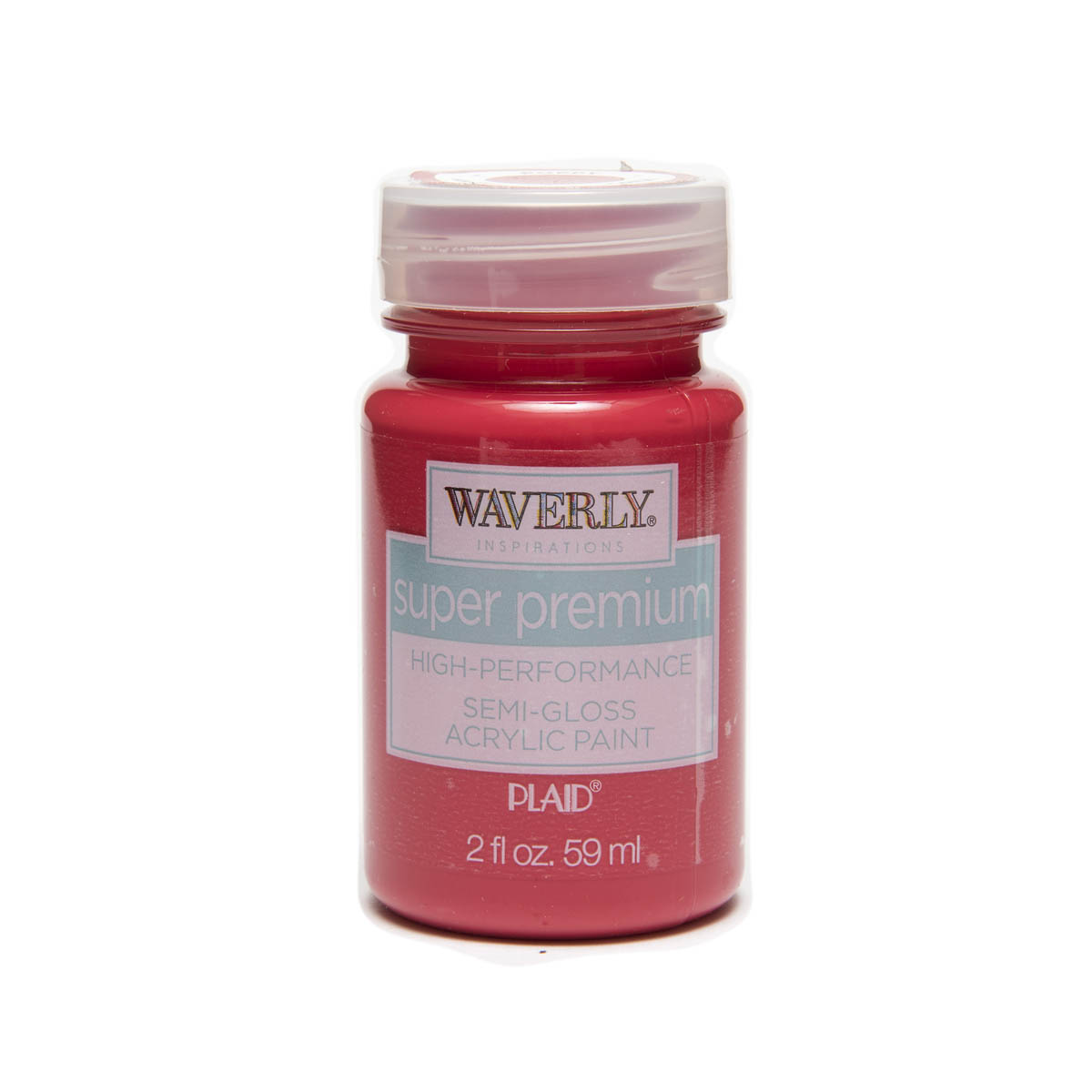 Waverly ® Inspirations Super Premium Semi-Gloss Acrylic Paint - Poppy, 2 oz.