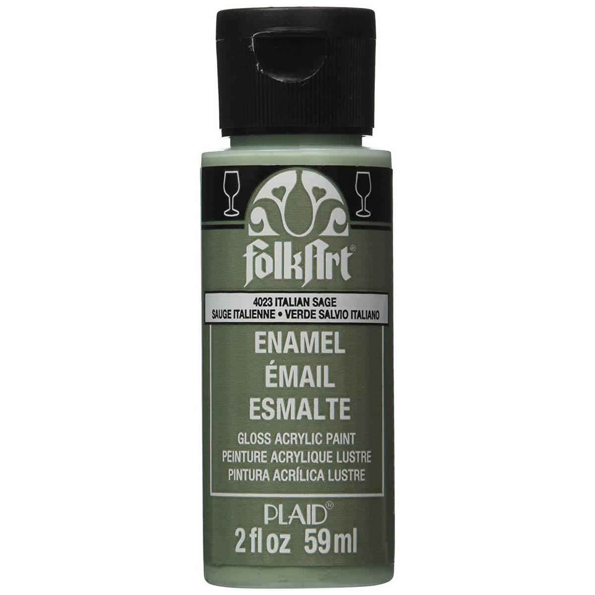 FolkArt ® Enamels™ - Italian Sage, 2 oz. - 4023