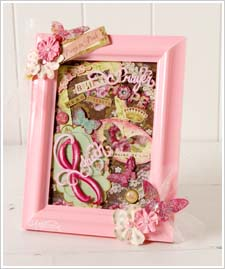 Breast Cancer Awareness Framed Collage