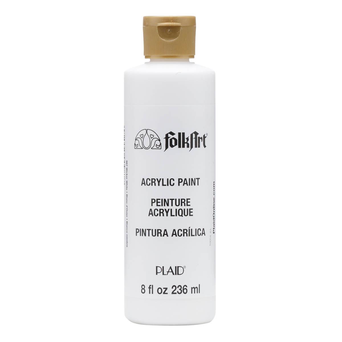 FolkArt ® Acrylic Colors - Wicker White, 8 oz. - 987