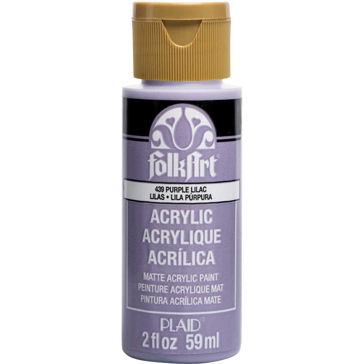 FolkArt ® Acrylic Colors - Purple Lilac, 2 oz. - 439
