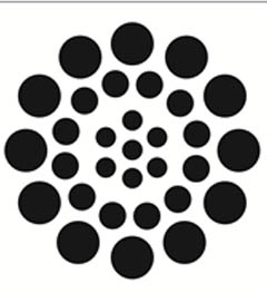 FolkArt ® Stencil1 ® Laser Stencils - Small - Asian Dots