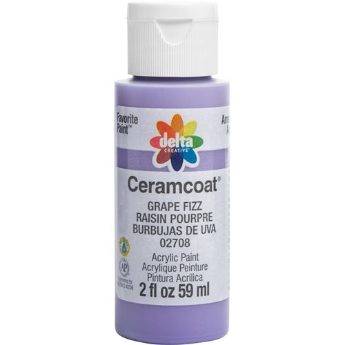 Delta Ceramcoat ® Acrylic Paint - Grape Fizz, 2 oz.