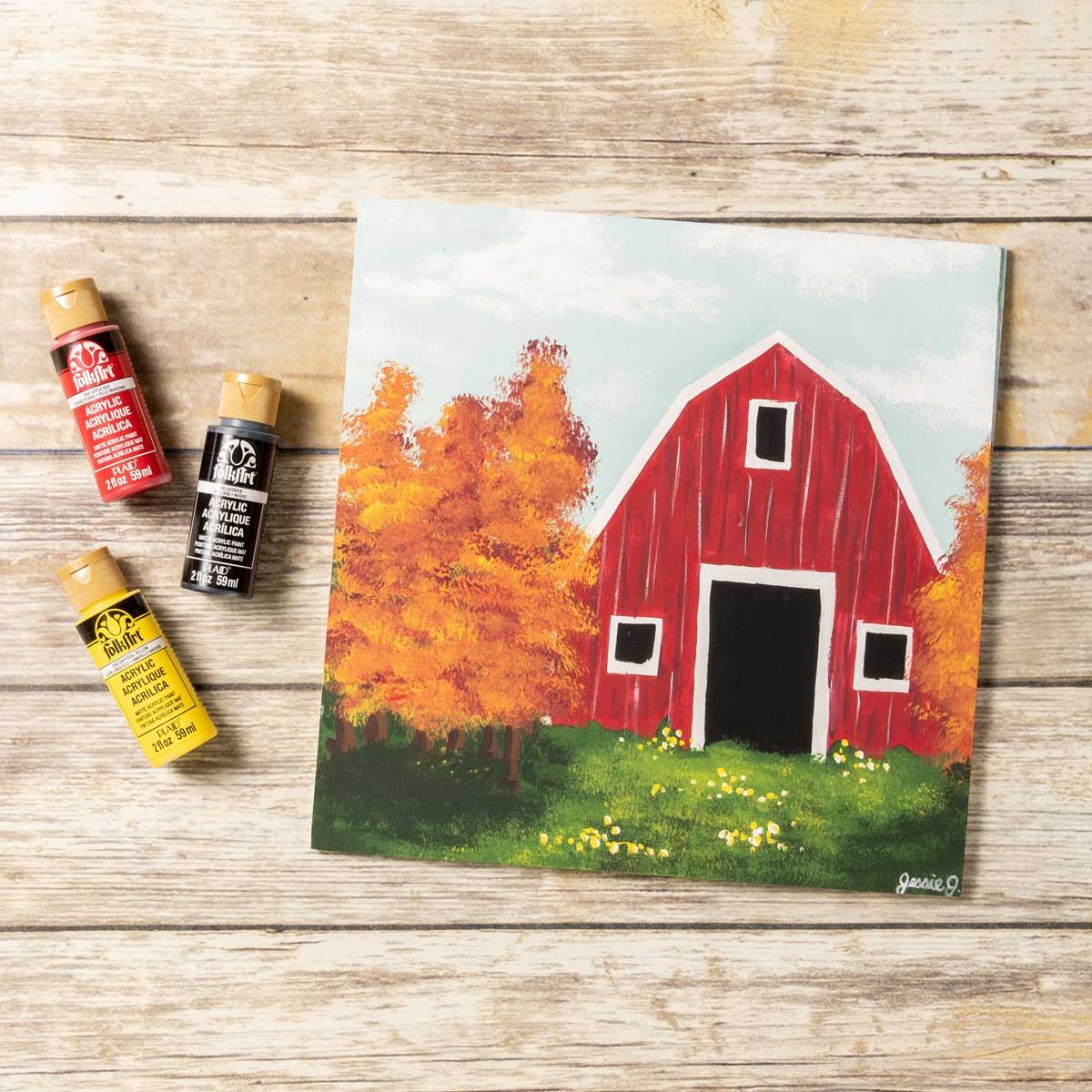 Rustic Red Barn