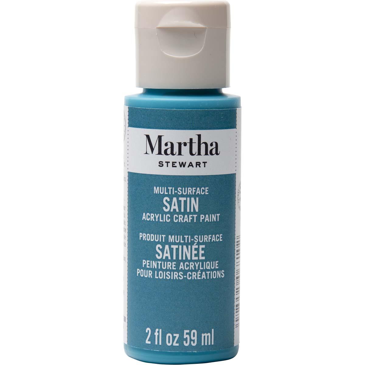 Martha Stewart ® Multi-Surface Satin Acrylic Craft Paint - Peacock Feather, 2 oz.