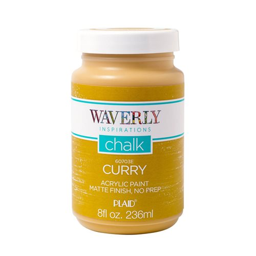 Waverly ® Inspirations Chalk Acrylic Paint - Curry, 8 oz. - 60703E