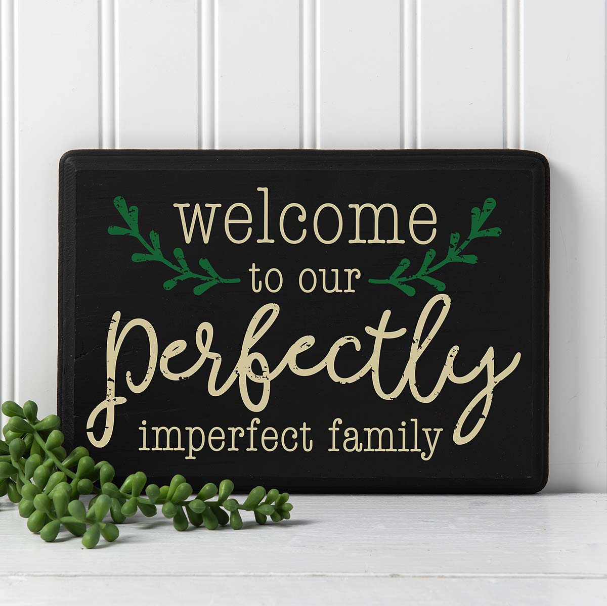 FolkArt ® Sign Shop™ Mesh Stencil - Perfectly Imperfect, 2 pc. - 63355