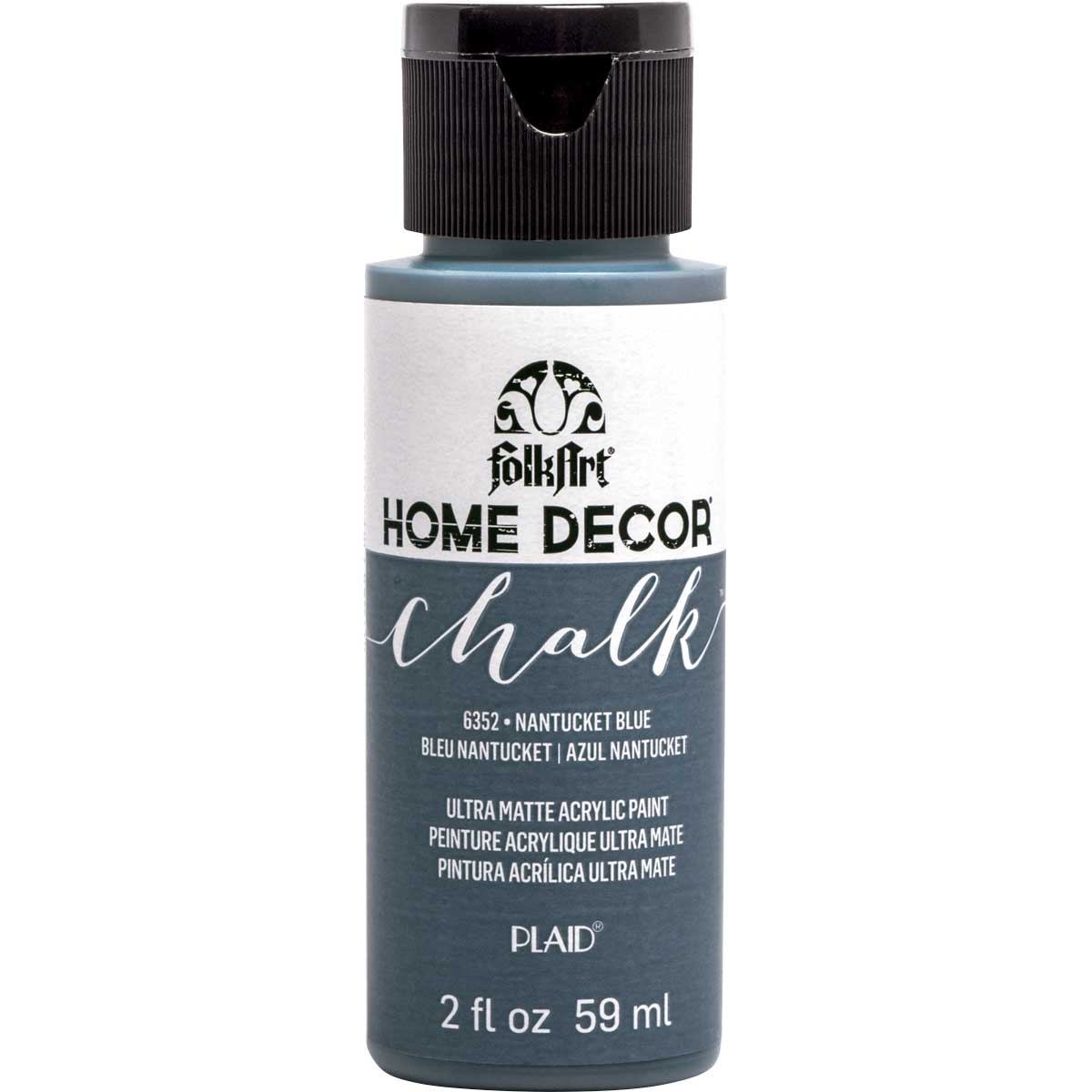 FolkArt ® Home Decor™ Chalk - Nantucket Blue, 2 oz.