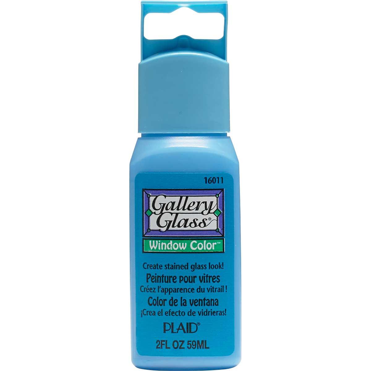 Gallery Glass ® Window Color™ - Blue Diamond, 2 oz. - 16011