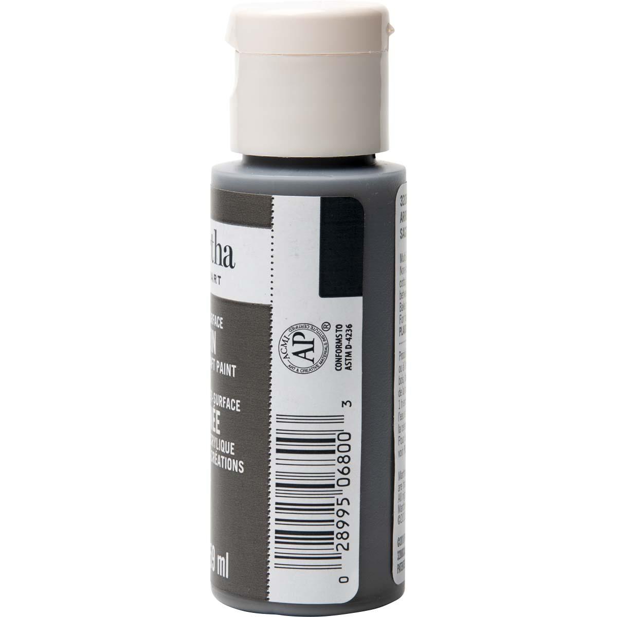 Martha Stewart ® Multi-Surface Satin Acrylic Craft Paint - Arrowhead, 2 oz. - 32080CA