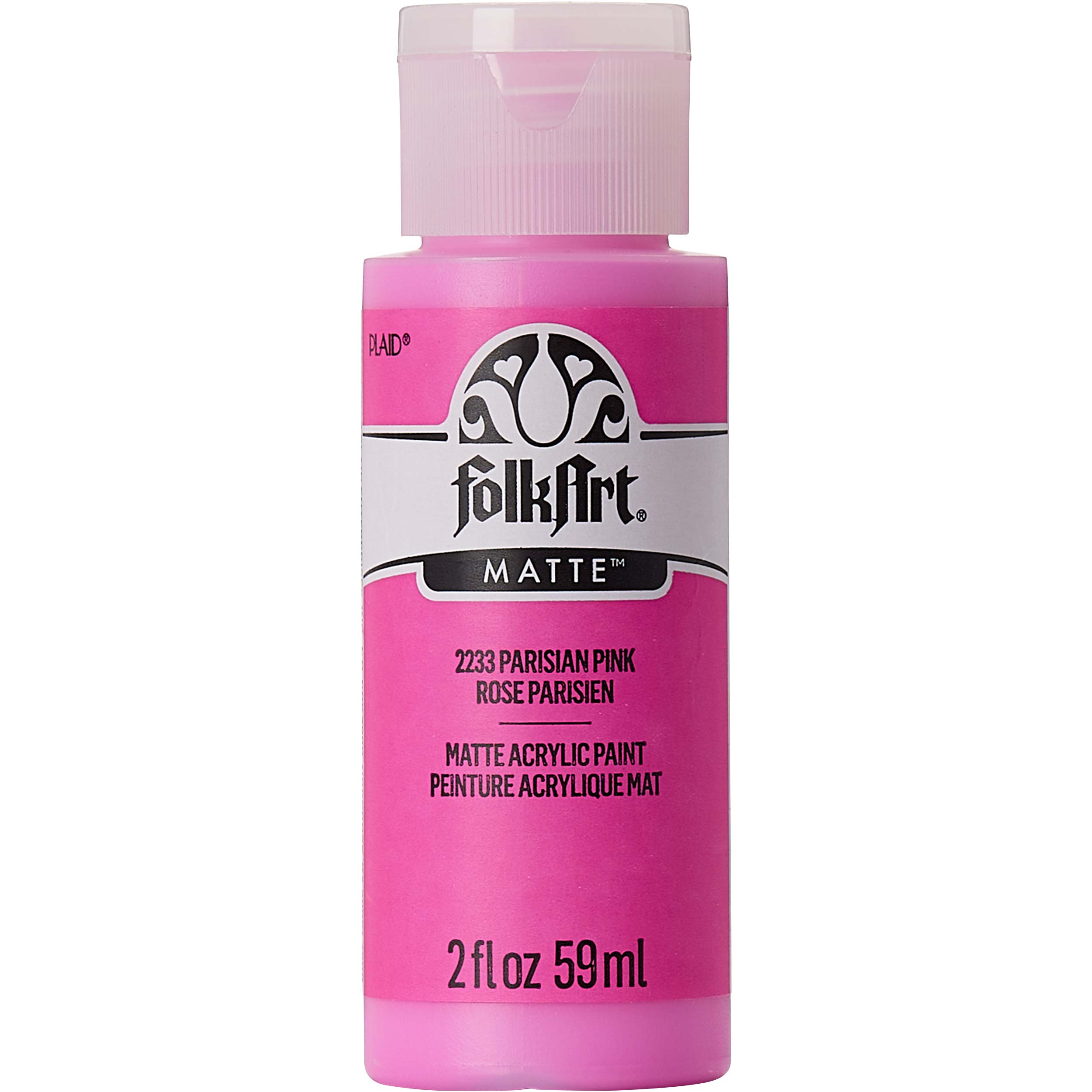 FolkArt ® Acrylic Colors - Parisian Pink, 2 oz. - 2233