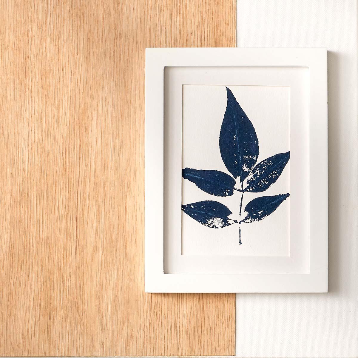 Beautiful Leaf Art Home Decor Idea